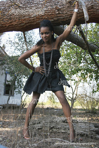 Photo by James DeBaca. Model Monique McNeal