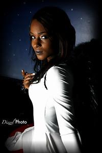 Photo by Frank Dizzel. Model Monique McNeal