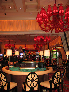 Photo of Steve Wynn's new casino Encore in Las Vegas before it is open to public by www.ReallyVegas.com