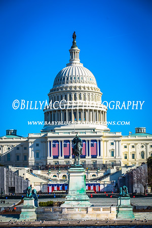 US Capitol and National Mall - 20 Jan 2013