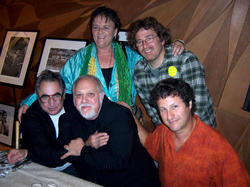Photoggers all... Jim Marshall, Robert Altman and Bob Minkin, Lisa Law and Jay Blakesberg