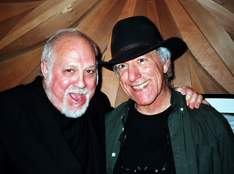 "Robert with great friend- renown music composer, arranger, musician  and uber Italiofile David Litwin.<br /> <br /> Visit David --> <a href=""http://www.davidlitwinproductions.com/"">http://www.davidlitwinproductions.com/</a>"