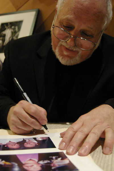 "Robert Altman, photographer, ""The Sixties"" booksigning at the Record Plant, Sausalito, CA, August 30, 2007."