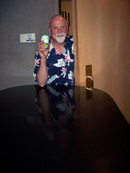 Record Plant manager and renown studio producer and engineer Arne Frager