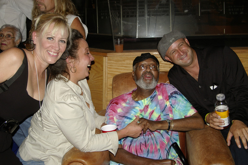 Mo Olson, Debrah Hall, Merl Saunders and Danny Newman