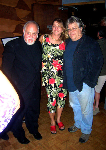 "Rob with Betsy Elliot and Boots Hughston-  who captains 2b1 Multimedia Inc. He successfully produced the 40th Anniversary of the Summer of Love celebration for 40,000 last year.<br /> <br /> Visit Boots: <a href=""http://www.2b1records.com/"">http://www.2b1records.com/</a>"