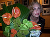 Interior decorator and caterer Sharon Theobald gifted us with choice floral arrangements. Thank you Sharon