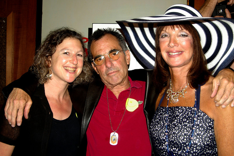 "That's Debbie with photographer Grant Jacobs (George Harrison and Patti Boyd on Haight Street) with B&B Noe's Nest's Sheila Ash<br /> <br /> Visit Grant  --.  <a href=""http://www.grantjacobs.com/"">http://www.grantjacobs.com/</a>"