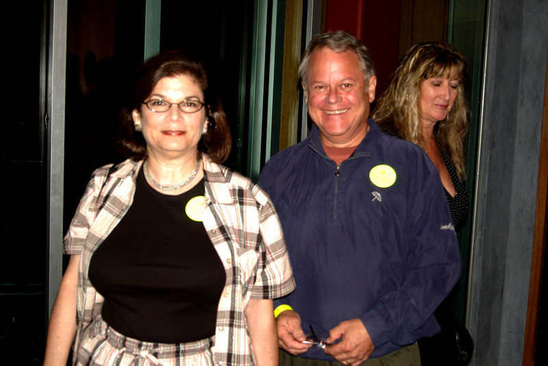 Here's Lynn and Douglas Dunlop and that's Annie Pierson in the background.
