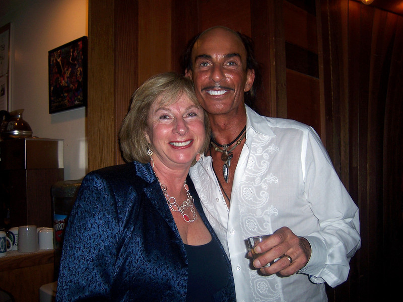 Music industry producer Nancy Ellen and Richard Habib, founder and president of Alexander's Fine Rugs in the Design Center and Board Member of the Mill Valley Chamber of Commerce.