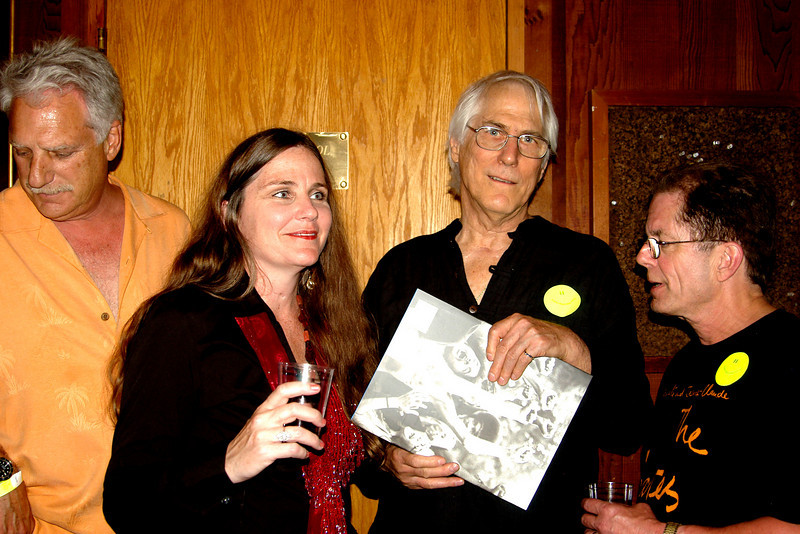 Friends with artist David Singer and Publicist/Historian Dennis McNally