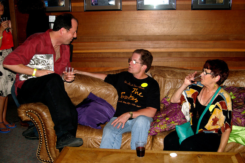 "Music wire ""Punmaster"" David Gross with Grateful Dead Publicist/Historian Dennis McNally and his wife photographer Susana Millman<br /> <br /> Visit The Punmaster  -->  <a href=""http://www.punmaster.com"">http://www.punmaster.com</a>"