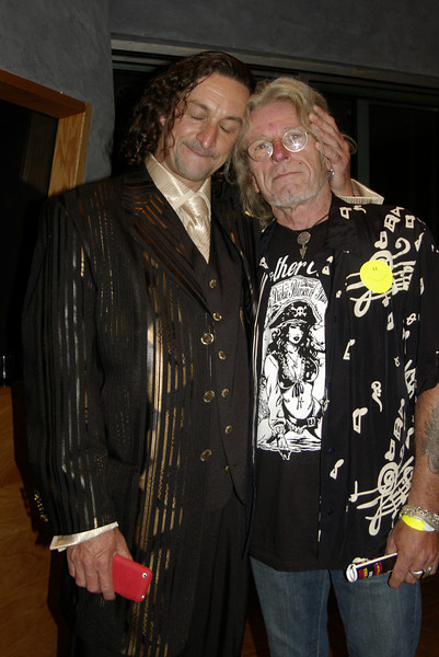 """Musician Joli Valenti with Blue Cheer's ace guitarist Dickie Peterson<br /> <br /> Visit Dickie  -->  <a href=""""http://www.myspace.com/dickiepeterson"""">http://www.myspace.com/dickiepeterson</a><br /> <br /> Visit Joli  -->  <a href=""""http://www.bay-area-bands.com/bab00051.htm"""">http://www.bay-area-bands.com/bab00051.htm</a>"""