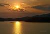 Sunset as viewed from Kenyir Sanctuary Resort.