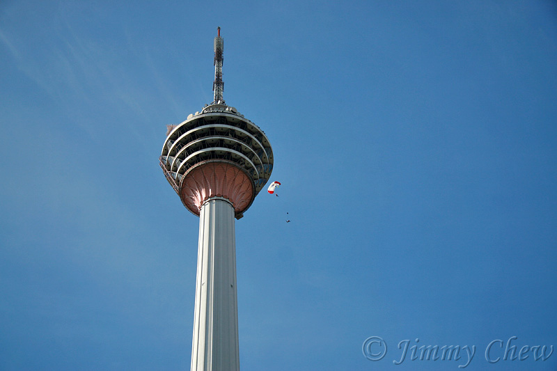 Supplementary pic. KL Tower jump.