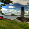 20. Mayo<br /> Ballycurrin light house, Lough Corrib - unpaved road through gate; 4K SW of Glencorrib (Cross - Headford road)
