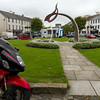 6. Fermanagh/Tyrone<br /> Castlederg Bridging Sculpture, @ the Diamond