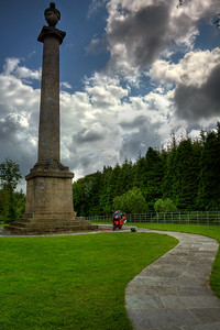 5. Cavan/Monaghan Dawson memorial column, 4K W of Rockcorry on Cootehill Rd