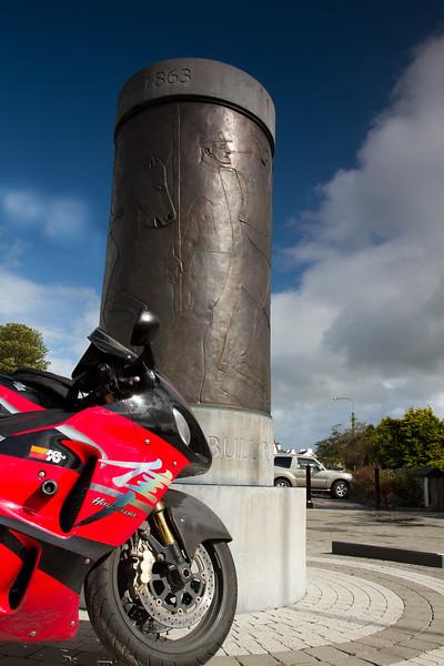 21. Sligo<br /> The fighting 69th monument in Ballymote