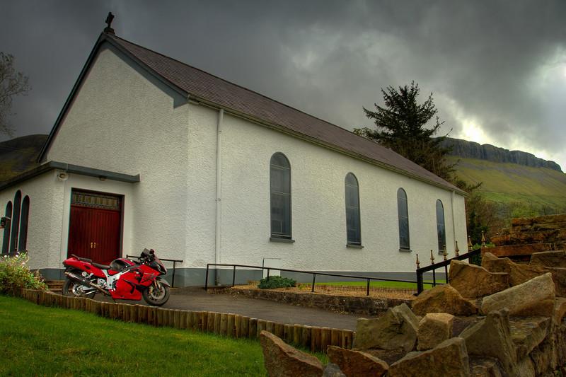 22. Leitrim<br /> St Michael's church – 6K SW of Kinlough (Glenade)