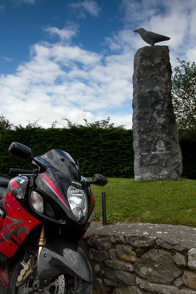 12. Carlow/Kilkenny<br /> The Bird sculpture @ Lisdowney – 4K W of Ballyragget