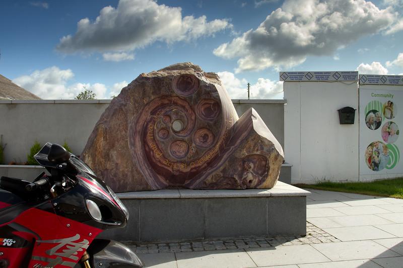 11. Wexford<br /> WW2 memorial sculpture garden, Campile