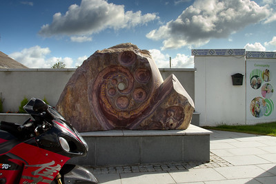 11. Wexford WW2 memorial sculpture garden, Campile