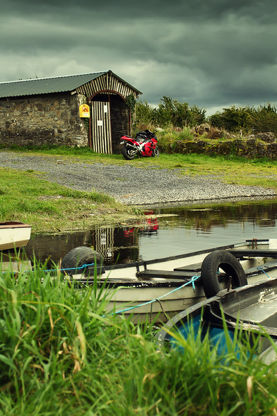 7. Longford/Westmeath<br /> Boathouse 4K S of Coole (Lough Derravaragh)