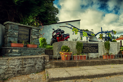 18. Cork Jerry Horgan plough monument, Ballinagree; 10K NE of Macroom