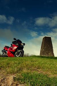 13. Laois/Offally Capard ridge trig pillar (near the masts) 10K W of Mountmellick