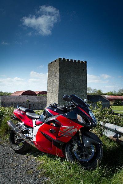 9. Dublin/Kildare<br /> Ballyteige castle; 4K W of Robertstown