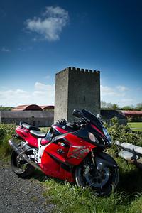 9. Dublin/Kildare Ballyteige castle; 4K W of Robertstown