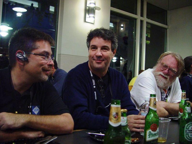 Ricardo Wenger, Alex Feldstein, David Frankenbach
