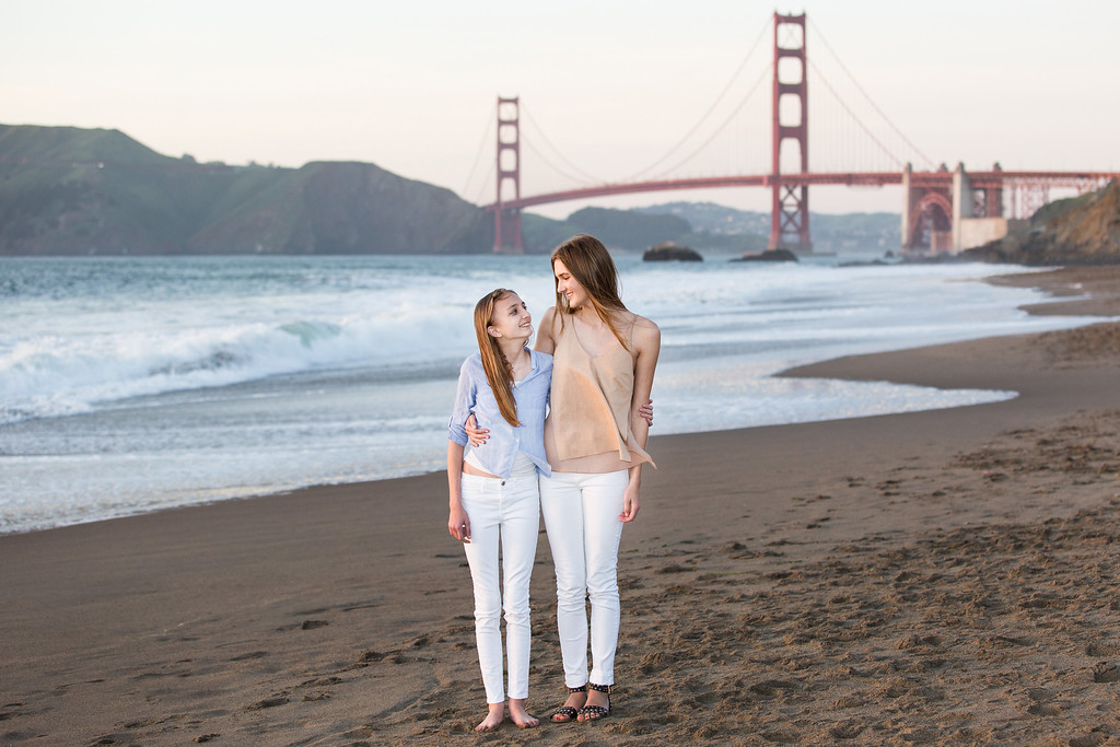 baker beach senior picture
