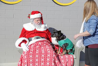Photos with Santa at The Hydrant Club