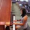 "Sarah performing ""I Love a Piano"""