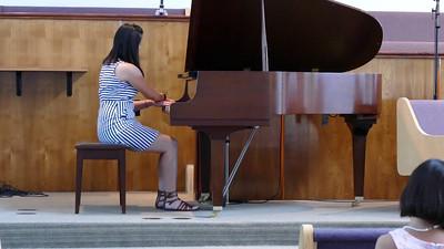 """Sarah performing """"The Irish Washerwoman"""""""