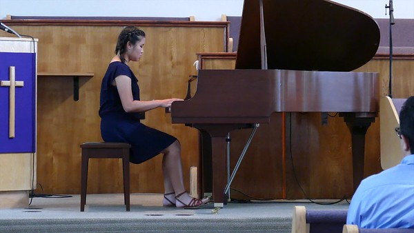 "Sarah playing ""Solace"""