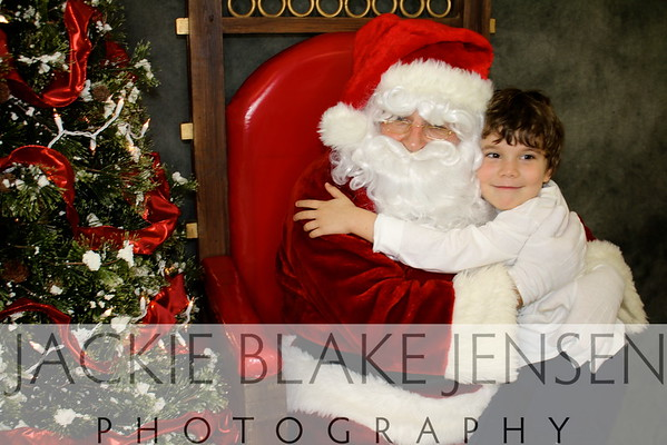 Pictures with Santa ~ Regina Christmas Market 12/6/2014