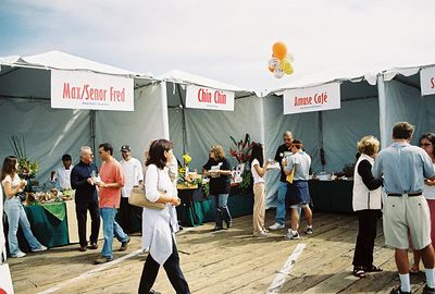 10/10/04 Food tasting at Pier del Sol 2004