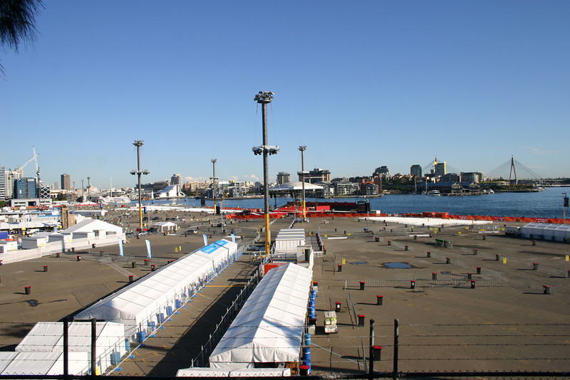Barangaroo, one of the main event sites