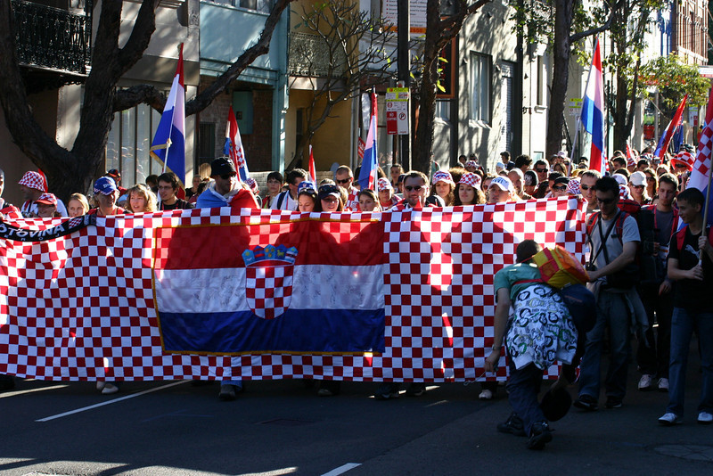 The Croatians are coming....