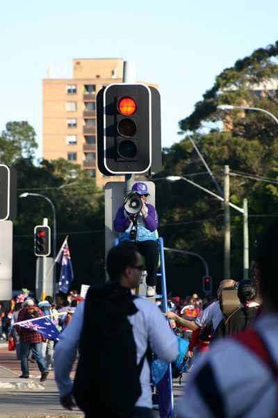 Speaking traffic signs...