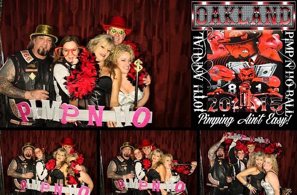 Pimp n Ho Ball - HAMCO 10.24.15 Photo Strips