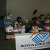 The boys and girls club of Sacramento area were just fantastic. Cheerful, pleasant and very helpful. Thanks guys and gals! Oh yeah, they made pretty good hot dogs too.