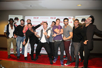 Pin Up 1 Year Anniversary & Red Carpet Event.
