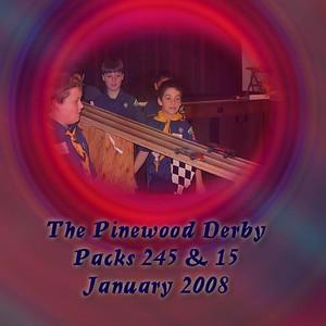 Pinewood Derby 2008 Packs 245 &15