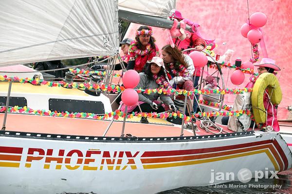 Pink Boat Tacoma