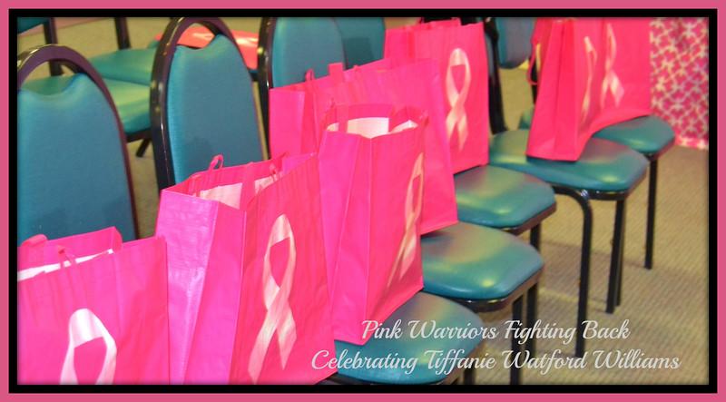 Pink Warriors Celebrating Tiffanie Watford