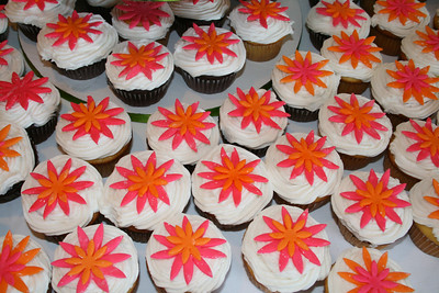 Detail of the cupcakes